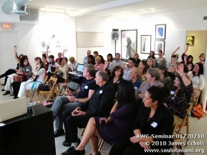 Our seminar on video marketing with Jessica Kizorak on Jan 20, 2010.
