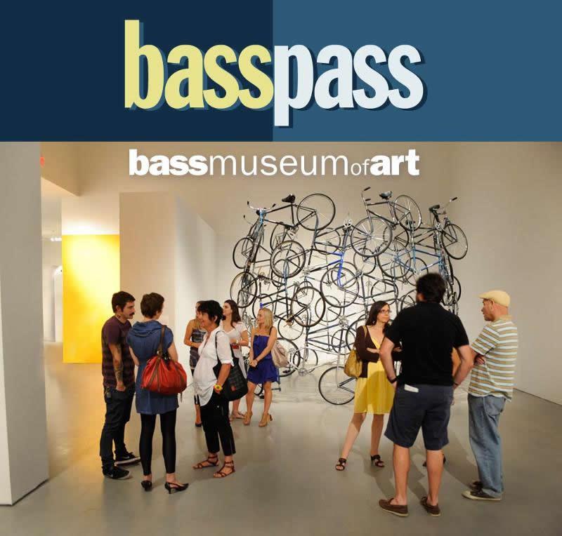 From Bass Museum of Art: basspass for artists