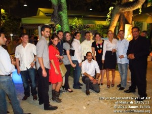 River Of Art at Maitardi on May 25, 2011