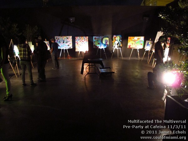 Photographs of Multifaceted The Multiversal Pre-Party & Mixer at Cafeina on 11/3/11