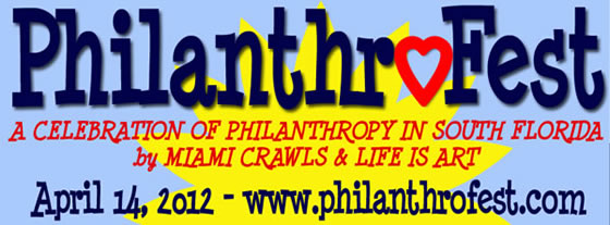 Philanthrofest Unites South Florida's Not-For-Profits For First Ever Large-Scale Community Event on April 14, 2012