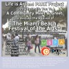 EVENT #61 Life is Art and PARK Project Community Meet & Greet To Discuss The Miami Beach Festival of the Arts on October 2, 2012