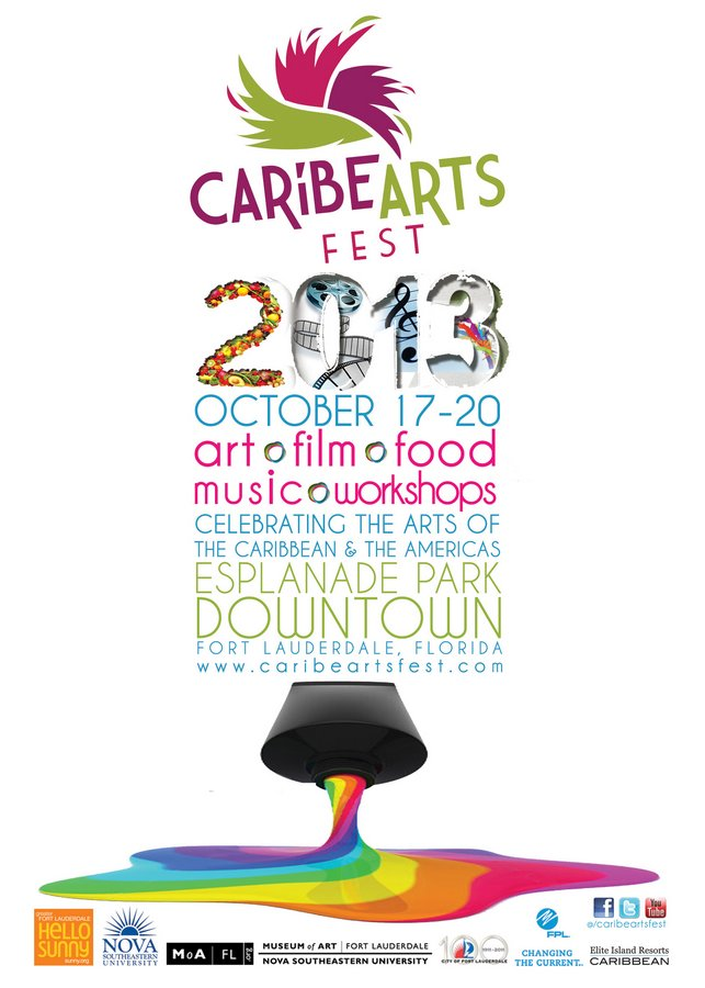 From Esplanade Park, Ft Lauderdale: Call for Artists Caribe Arts Fest Deadline September 30, 2013