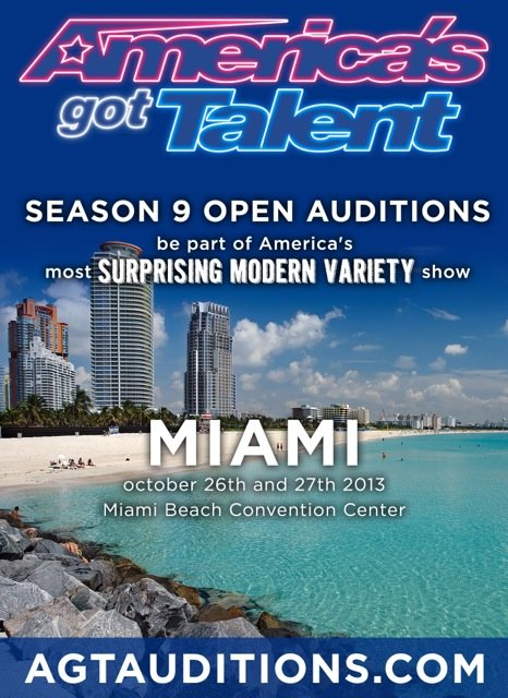 From America's Got Talent: Miami Auditions on October 25-26, 2013