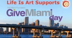 Life Is Art Supports Give Miami Day on November 20, 2013