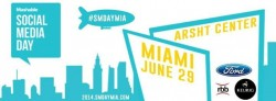 Life Is Art supports Social Media Day Miami on June 29, 2014