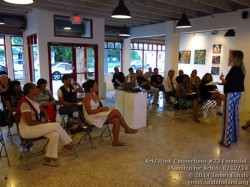 Photographs of Life Is Art presents Art/Work Connections Seminar 22: Contract Negotiation for Artists with RKE Law Group on 8/12/14