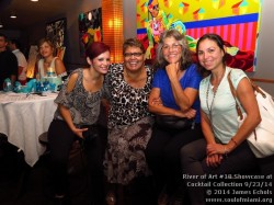 Photographs of Soul Of Miami and Life Is Art present the River Of Art 18 Pop-Up Social at Cocktail Collection on 9/23/14