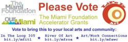 Vote for Life Is Art Miami Foundation Accelerator Grants