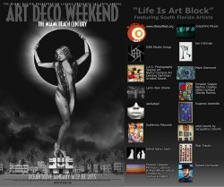 EVENT #99 Life Is Art Block at Art Deco Weekend Festival January 16-18, 2015