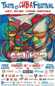 Meet Life Is Art at the Taste Of Cuba Festival at Hialeah Park February 28 – March 1, 2015