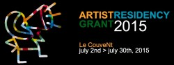 From Le Couvent: Call for Artists for Le CouveNt – Artist Residency Grant 2015, Deadline March 18, 2015