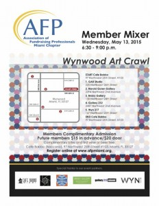 Life Is Art supports: AFP Miami Wynwood Art Crawl on May 13, 2015