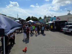 Photographs of The Leah Arts District Unveiling and Block Party on 5/17/15