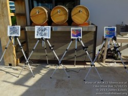 Photographs of Life Is Art & Soul Of Miami present the River Of Art at Cibo Wine Bar on 5/26/15