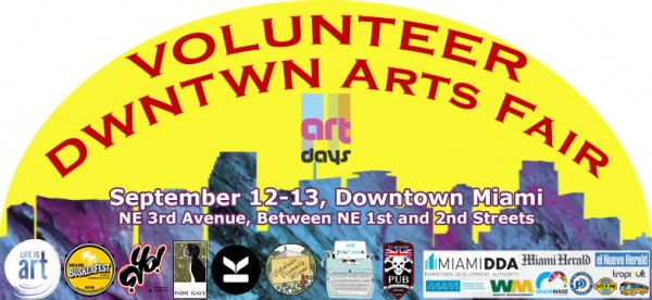 Volunteer Event Dwntwn Arts Fair copy