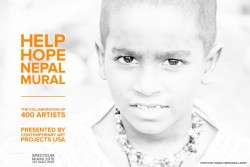 "From Contemporary Art Projects USA/Tata Fernandez: Call for Artists for 2015 Art Basel Miami Week|Juried Exhibiiton ""Help Hope Nepal Mural"", Deadline November 2, 2015"