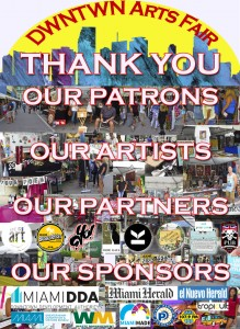 Thank You for Supporting DWNTWN Arts Fair!