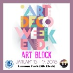 Life Is Art Village at Art Deco Weekend January 15-17, 2016