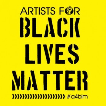 Artists for Black Lives Matter logo poster