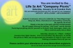 "EVENT #117 Life Is Art ""Company Picnic"" January 21, 2017"