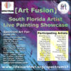 EVENT #121 Art Fusion at Spectrum December 6-10, 2017