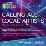 From Miami Beach Pride: Call for Artists Queer Art Pop-Up Showcase, Deadline March 15, 2020