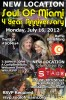 EVENT #57 Soul Of Miami 4 Year Anniversary and Life Is Art Fundraiser July 16, 2012 - NEW LOCATION