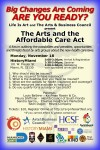EVENT #66: Arts and the Affordable Care Act Seminar -Creative Connections 14 on November 18, 2013