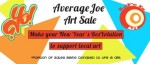 EVENT #68 YOMiami Average Joe Art Sale benefiting Life Is Art on January 5, 2014